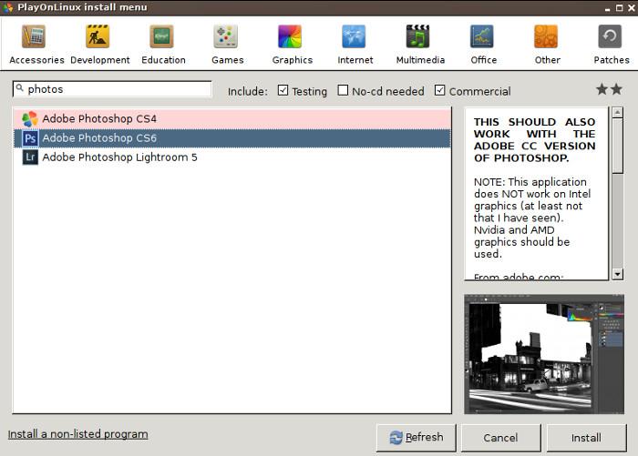 Как запустить скачанную программу фотошоп